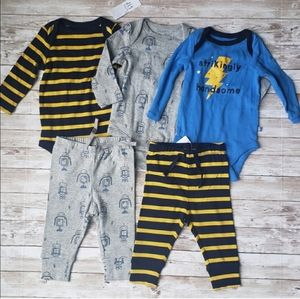 GAP Robot & Striped Print Mix and Match Outfits